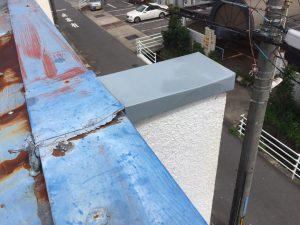 折半屋根防水 マイルーファー before